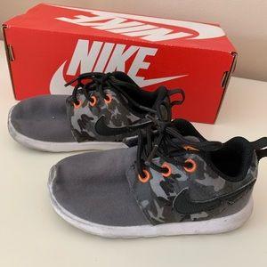 Boys Camo Nike Sneakers